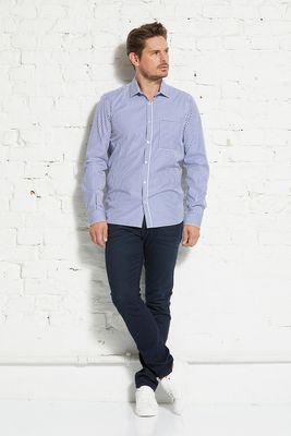 Metro shirt slim bold stripe