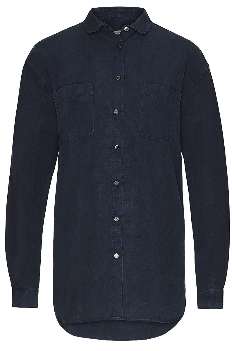 Linen tencel oversize blouse