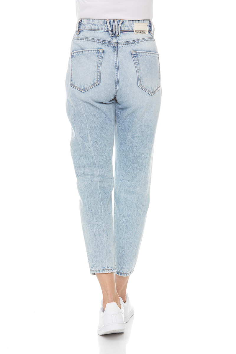 Collien carrot cropped eco bleached