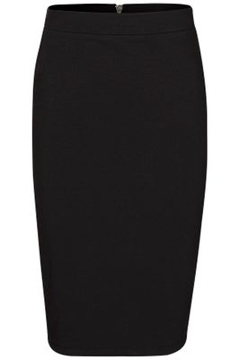 Compact sweat pencil skirt