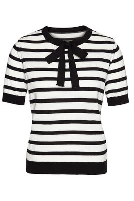 Crewknit 1/2 parisian stripes