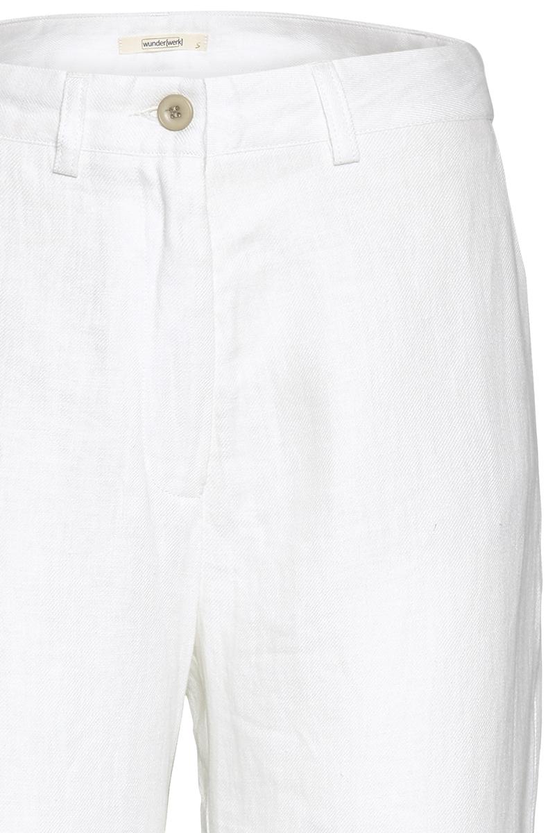 Wide leg linen pant