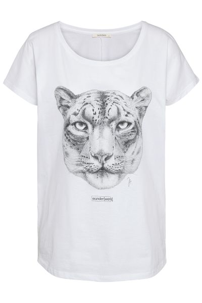 Tee snow leopard donation