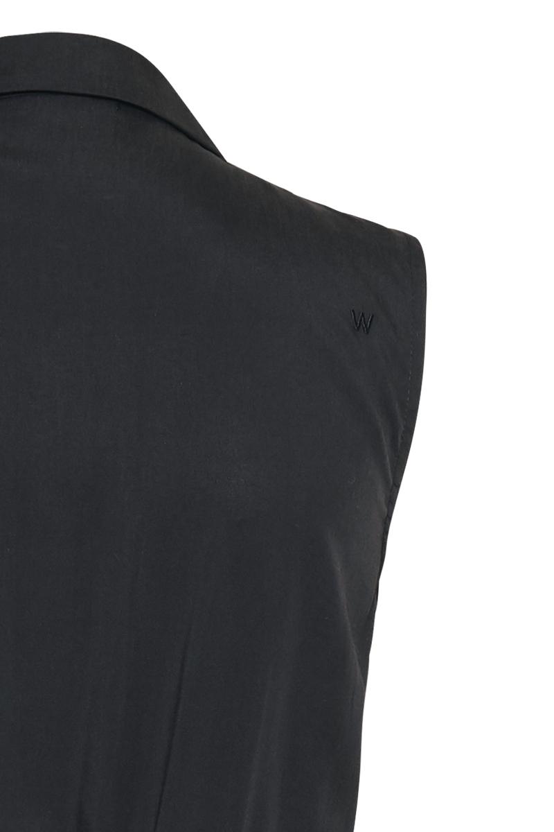 TENCEL revers jumpsuit cropped
