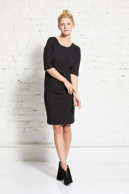 Compact sweat etui dress