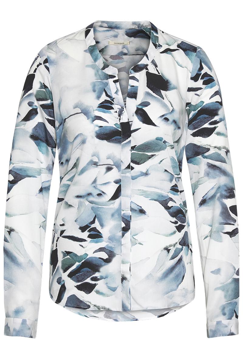 Tencel V blouse fading creek