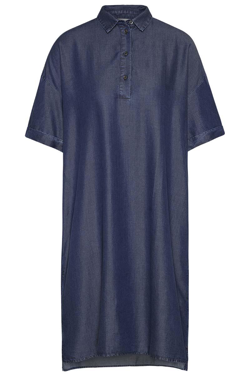 TENCEL denim shirt dress