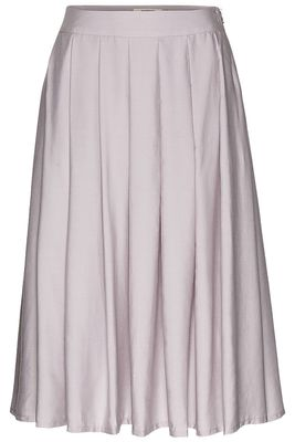Tencel midi skirt