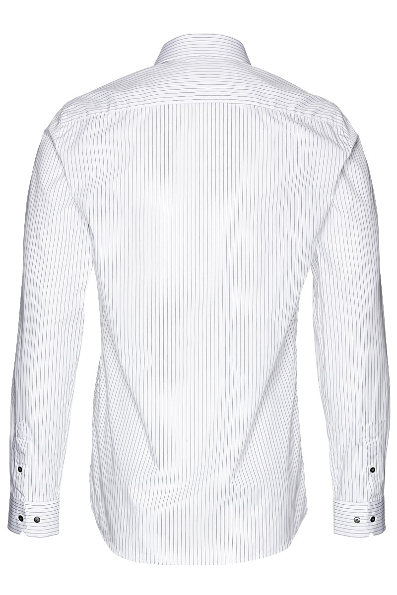 Metro shirt slim stripe male