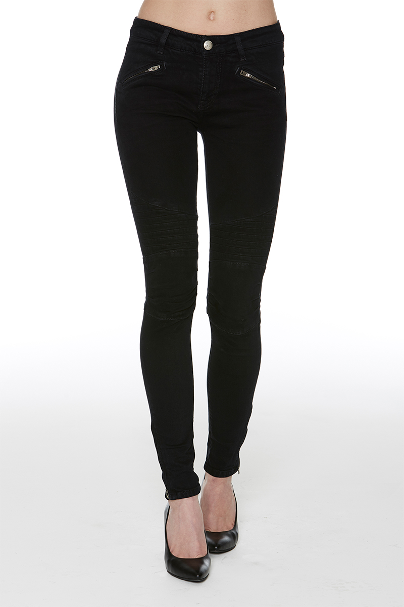 Zoe black overdye denim