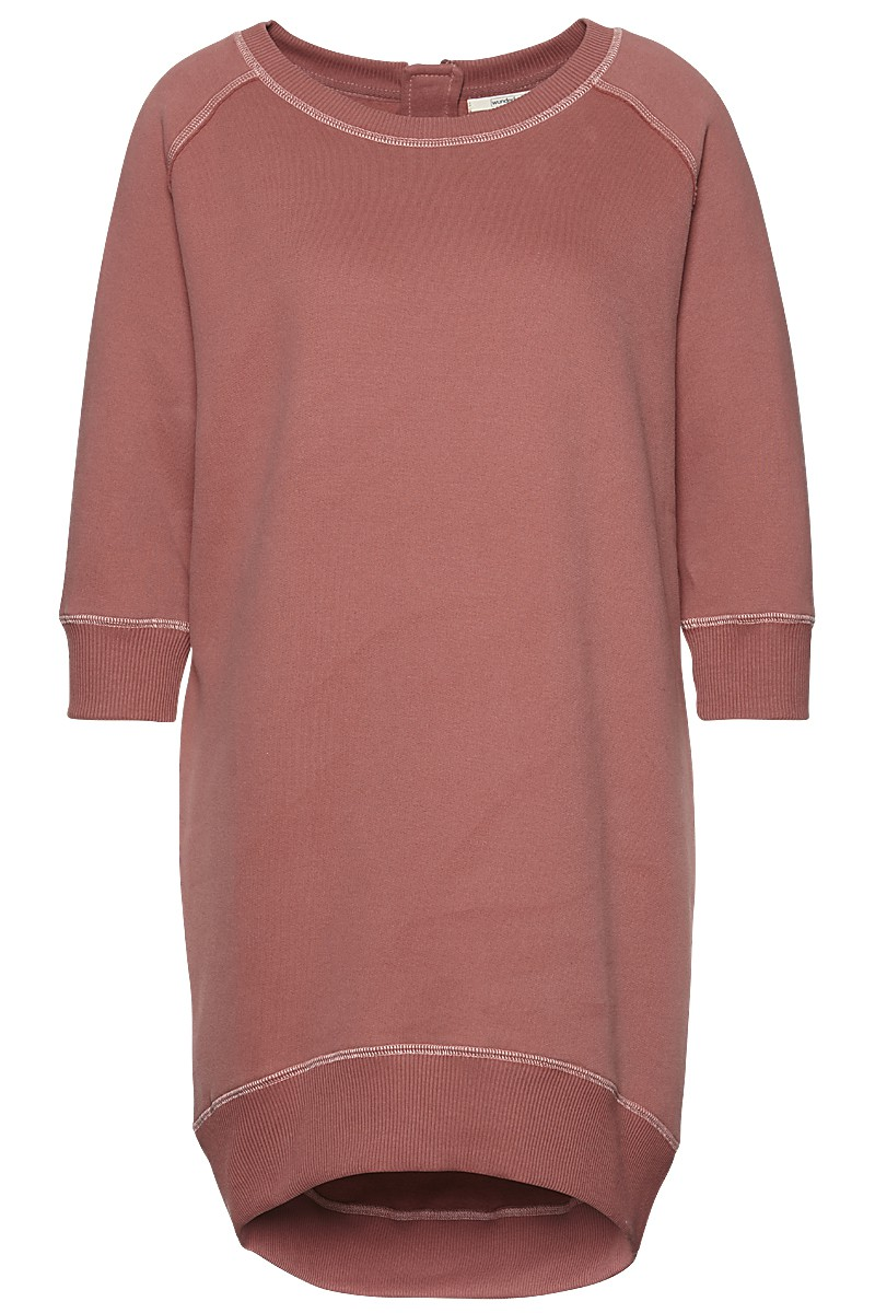 Soft sweat dress 3/4