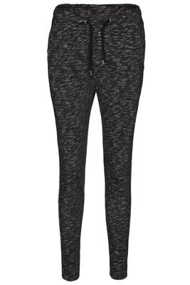 Sweat pant melange stripe