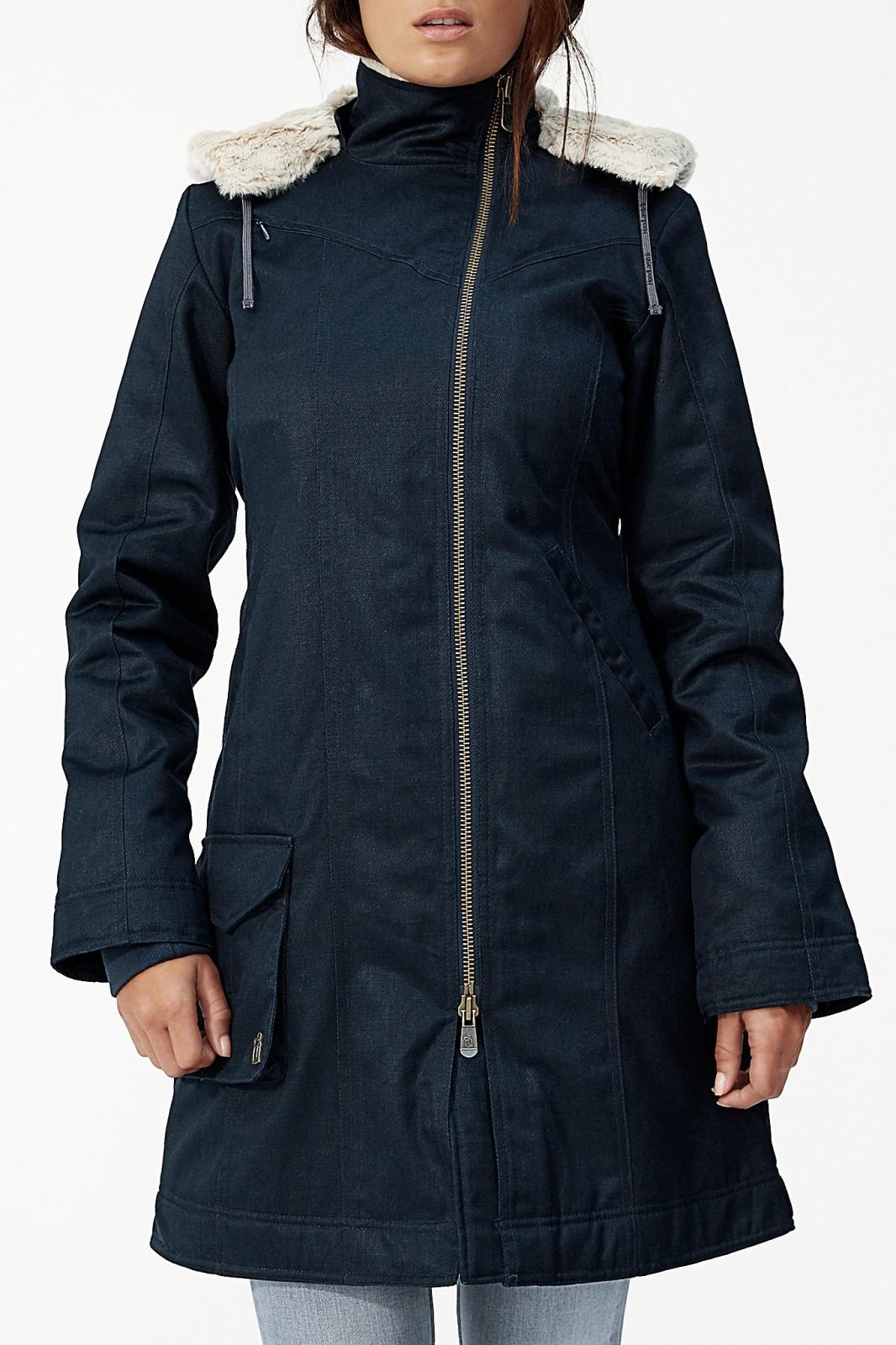 Hoodlamb Ladies' Long HoodLamb Coat