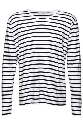 V-neck longsleeve stripe male