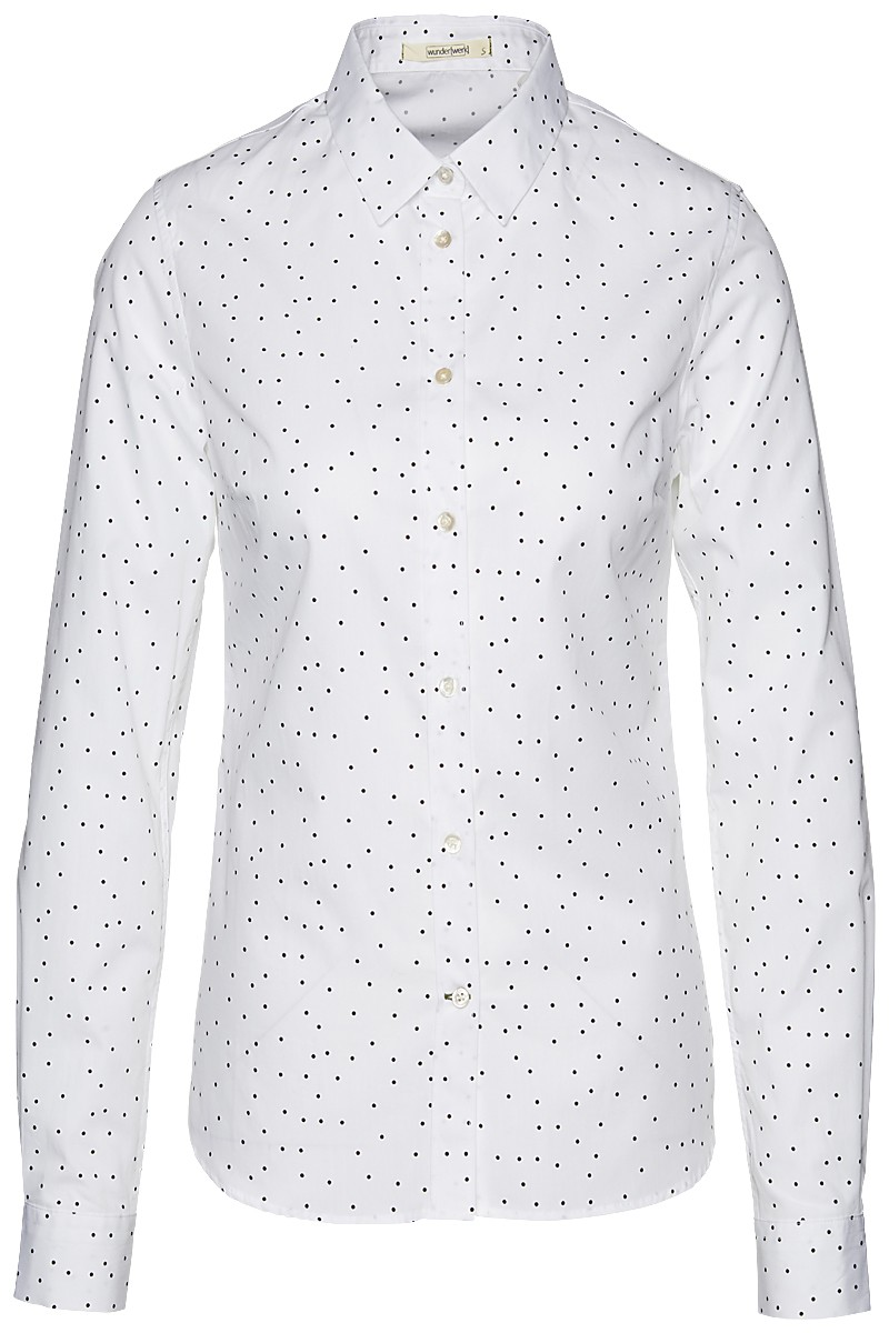Metro blouse dots