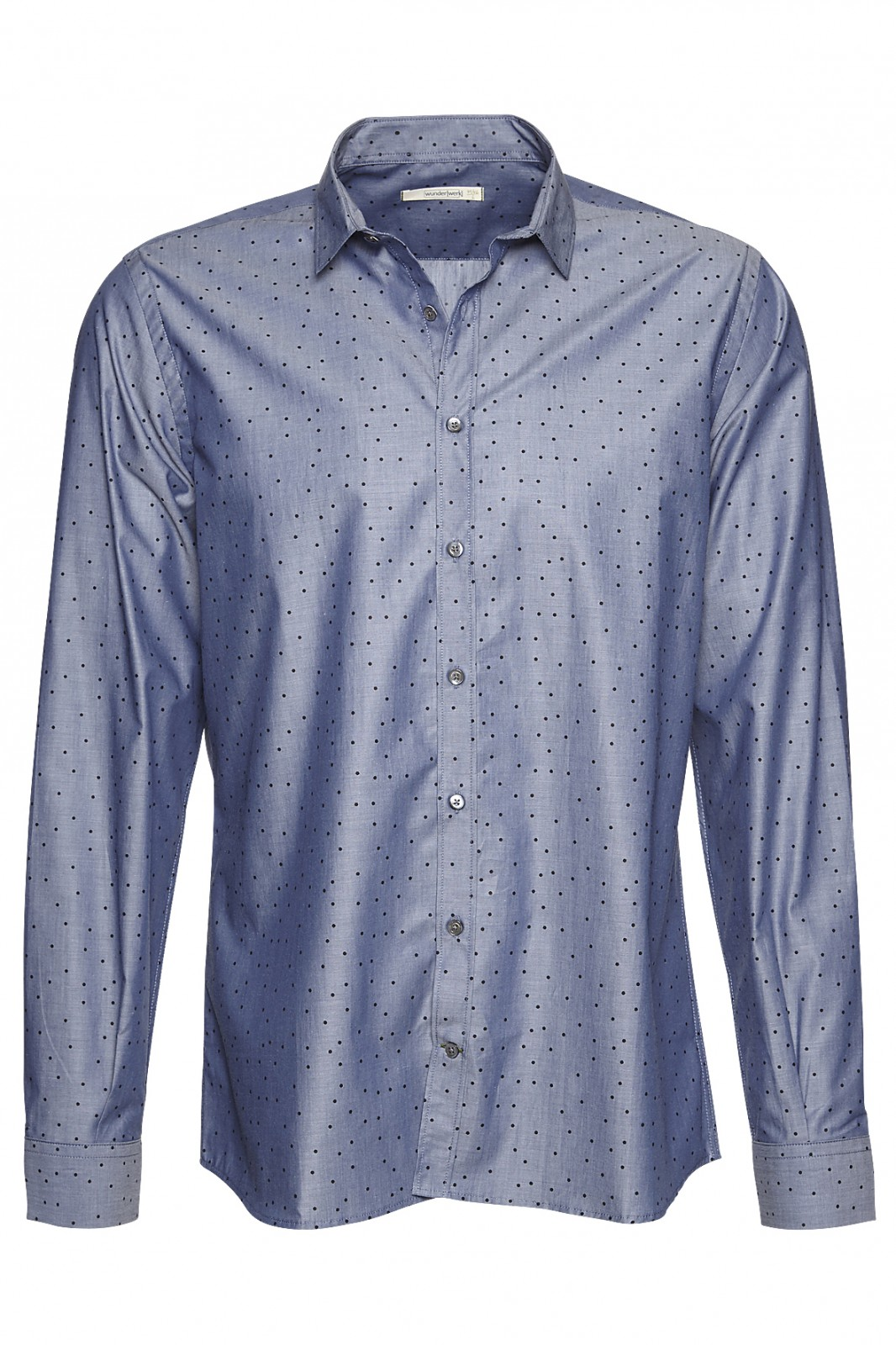 Metro shirt slim dots male