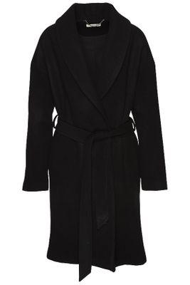 Kimono coat merino