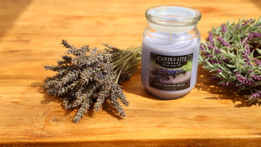 Duftkerze Fresh Lavender Breeze – Bild 2