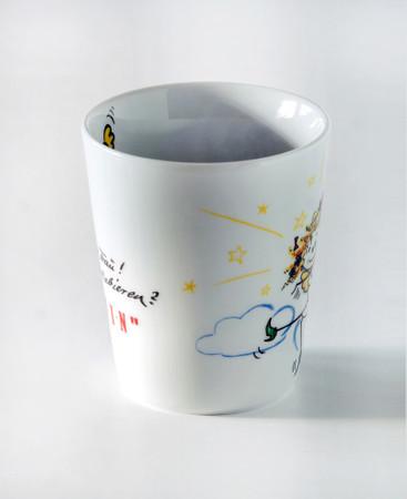 "Porzellan Tasse ""Göttin"" – Bild 3"