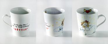 "Porzellan Tasse ""Göttin"" – Bild 4"