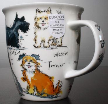 "Dunoon Kaffeebecher ""Nevis"" Messy Dogs – Bild 4"