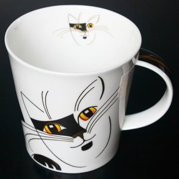 "Dunoon Kaffeebecher ""Cairngorm"" Sophisticats schwarz – Bild 1"