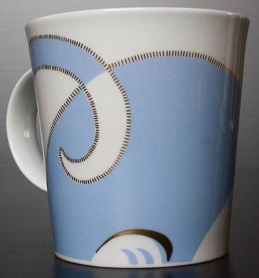 """Dunoon Kaffeebecher """"Cairngorm"""" Sophisticats blau – Bild 5"""