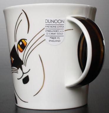 "Dunoon Kaffeebecher ""Cairngorm"" Sophisticats schwarz inkl. Geschenkbox – Bild 3"