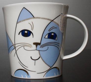 "Dunoon Kaffeebecher ""Cairngorm"" Sophisticats blau inkl. Geschenkbox – Bild 4"