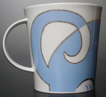 "Dunoon Kaffeebecher ""Cairngorm"" Sophisticats blau inkl. Geschenkbox – Bild 7"