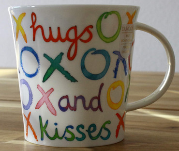 "Dunoon Kaffeebecher ""Cairngorm"" Hugs And Kisses – Bild 2"