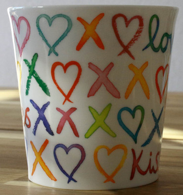"Dunoon Kaffeebecher ""Cairngorm"" Love And Kisses – Bild 3"