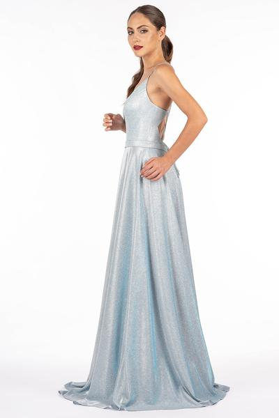 Brillantes Abendkleid