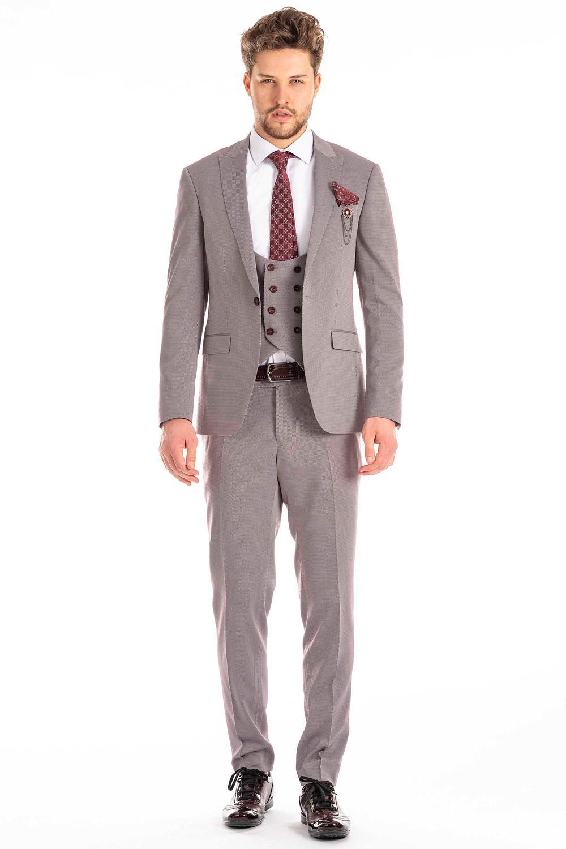 Vielseitig kombinierbarer Anzug (Slim-Fit)