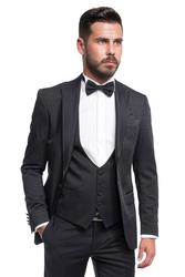 Groom suit with pattern 001