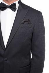 Bräutigam Anzug Vierteiler mit Musterung