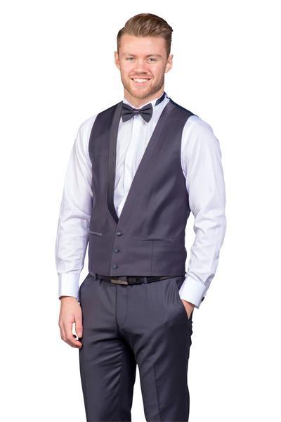 Bräutigam Anzug Vierteiler im dezenten Farbton