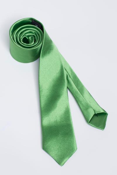 Geschmackvolle Basic-Krawatte mit hoher Qualitaet