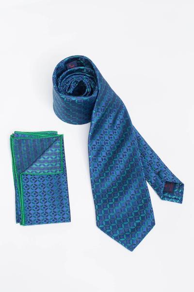 Klassische Krawatte mit Kreis-Muster