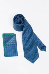 Klassische Krawatte mit Kreis-Muster 001