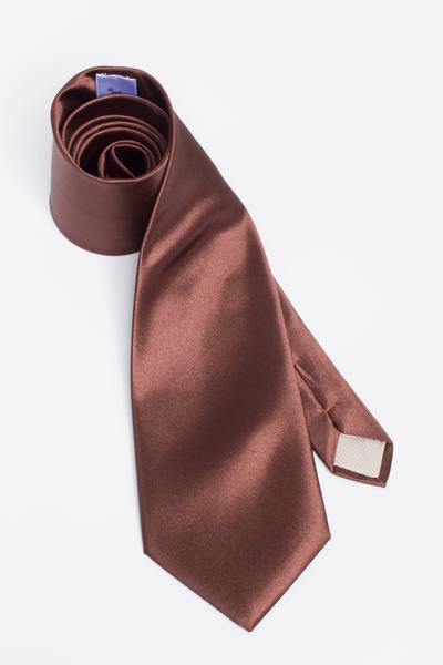 Standard tie with shiny shimmer