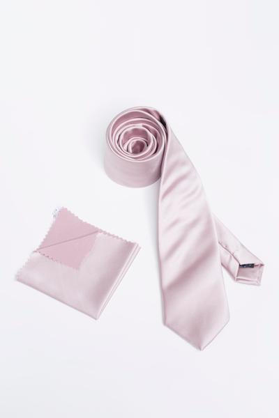 Geschmackvolle Krawatte in Hochglanz-Optik