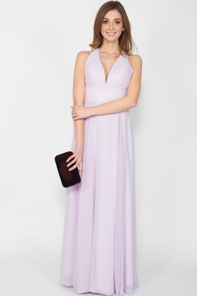 Elegantes Abendkleid in Hellrosa