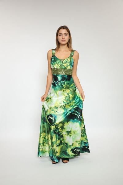 Atemberaubendes Kleid mit Floralprint