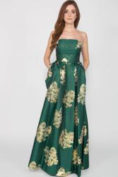 Elegant Silky evening dress 001