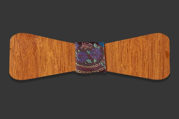 Narrow wooden fly - seamless
