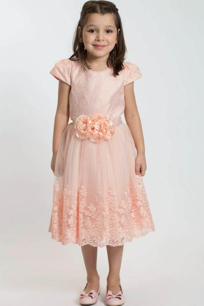 Children's evening dress knee length