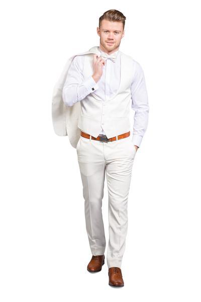 Bräutigam Anzug im Stil sicherem Muster