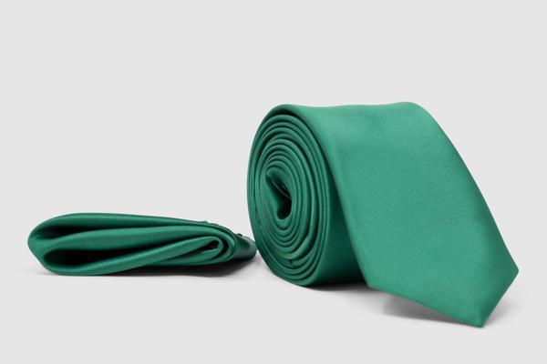 Elegante Krawatte in Grün
