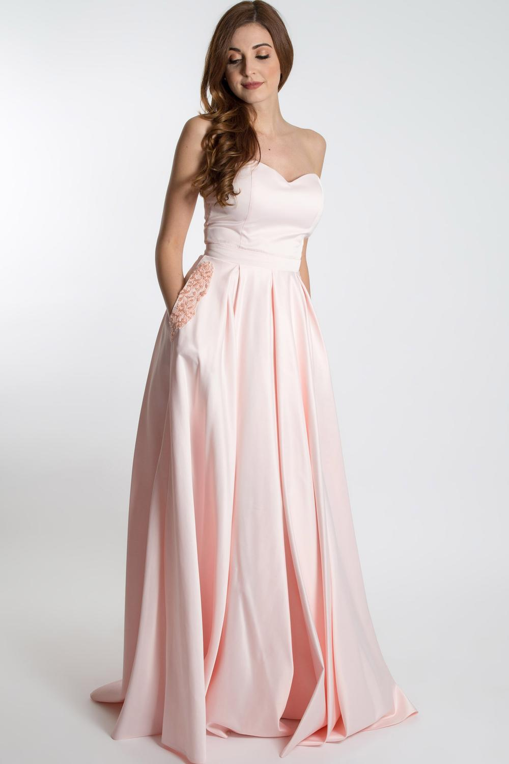 66e923d8b26 Strapless Homecoming Dress With Pockets - Gomes Weine AG